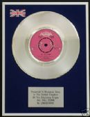 "LINDISFARNE - 7"" Platinum Disc - ALL FALL DOWN"